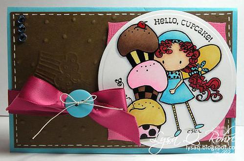 Cherry Bugg Cupcake