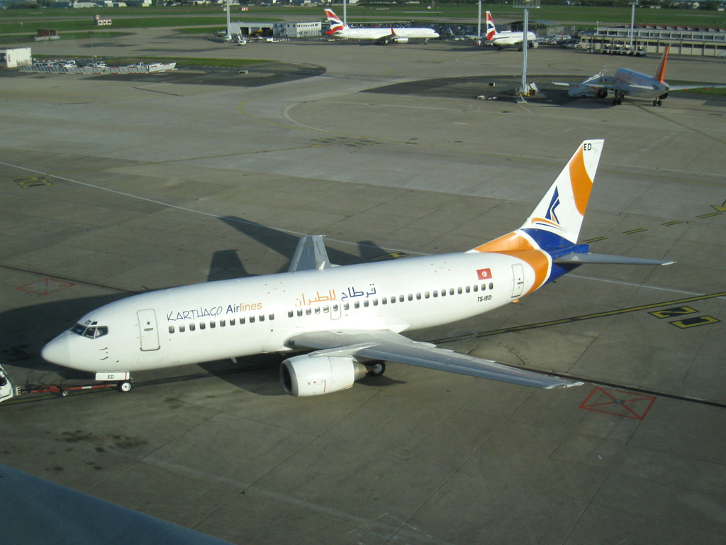 Karthago Airlines, 737-33A, TS-IED, ORY/LFPO