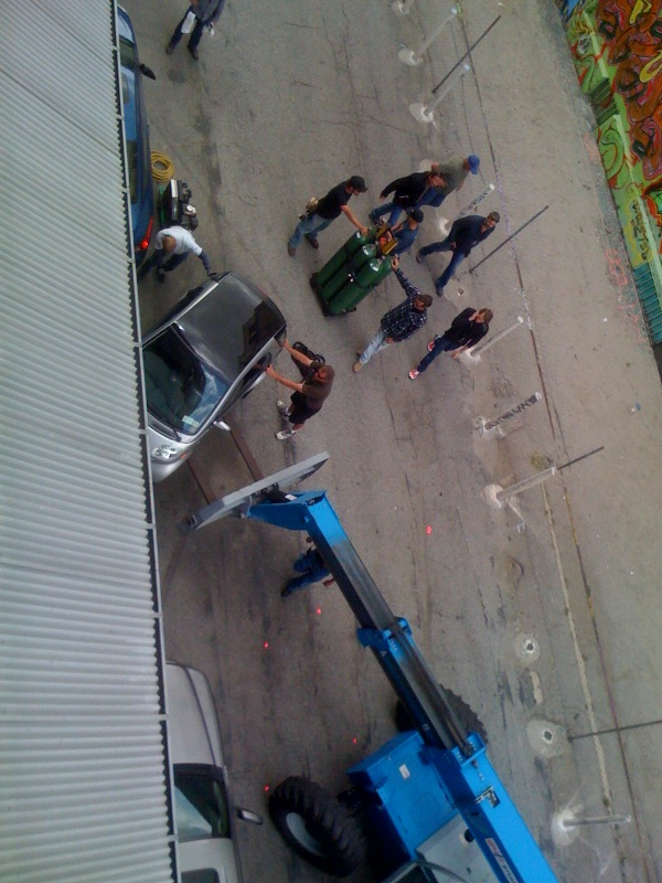 Thumb New photo of the Transformers 3 filming location