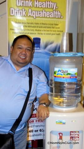 Arpee Lazaro of Aqua Health Alkaline Water