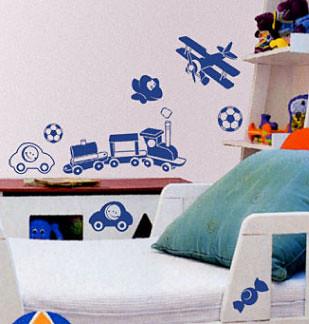 adesivo de parede para meninos