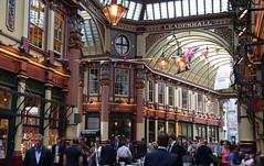 Leadenhall Market, City of London (Majorshots) Tags: london leadenhallmarket arcade landmarks monuments sights cityoflondon centrallondon