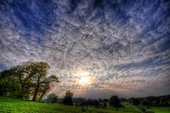 Sunset at Ickworth Park - HDR