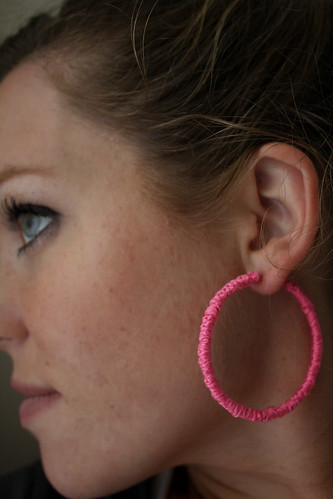 Knotted Earrings On
