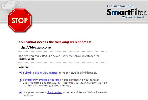 blogger - blocked