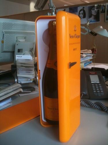 Mini-Kühlschrank von Veuve Clicquot