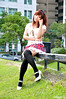 辛咩咩21 (袋熊) Tags: hot cute sexy beauty taiwan taipei 台北 可愛 外拍 性感 公民會館 時裝 數位遊戲王 辛咩咩