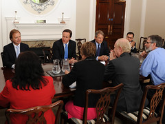 PM meets other party leaders in Northern Ireland