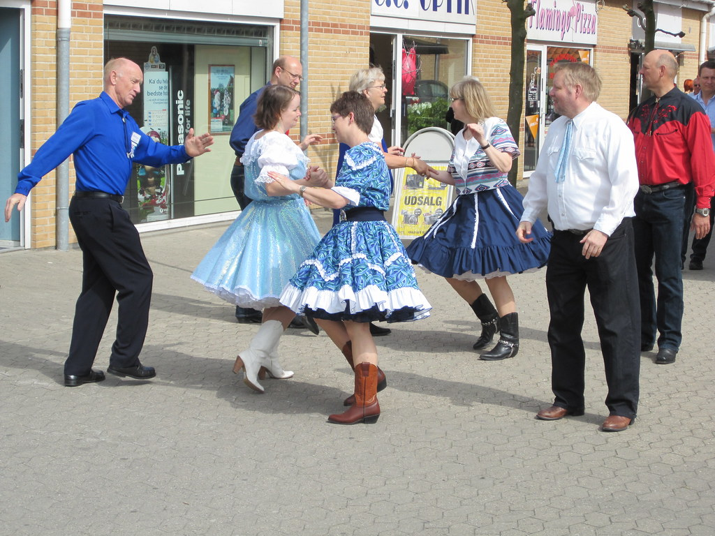 Square dance i Borup