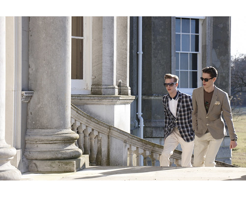 Benoni Loos & Jeremy Young for ZIOZIA 2010 S/S Campaign by Phil Poynter