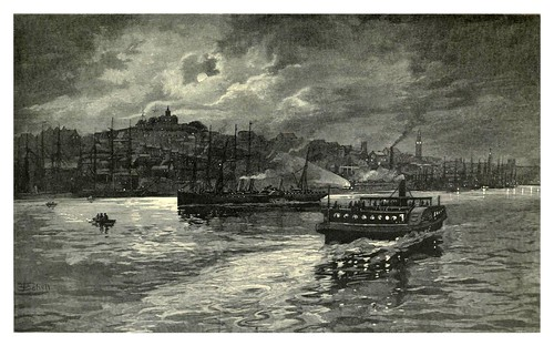 001-Entrada al puerto Darling-Sydney-Australasia illustrated (1892)- Andrew Garran