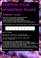 wiccan names