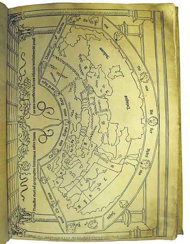 Map of the World from Mela's 'Cosmographia'