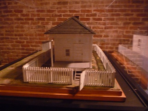 model of elvis' birthplace in tupelo, ms.