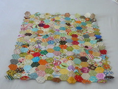 Hexagon Quilt (2mayboys) Tags: