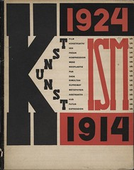 Die Kunstismen Les ismes de l'art The Isms of Art Kunstismus, 1914-1924 (andreyefits) Tags: 1920s magazine cover soviet avantgarde constructivism ellissitzky