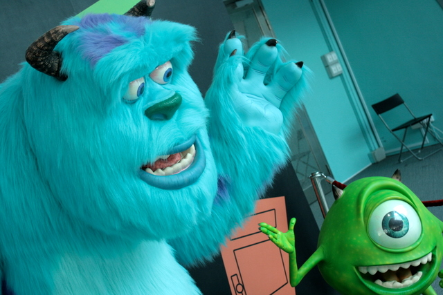Lifesize Sully and Mike
