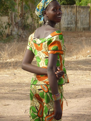 Senegalese girl