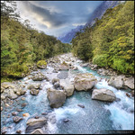 Tutoko Valley, Fiordland National Park, New Zealand :: HDR :: Vertorama