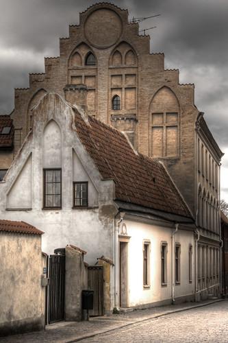 Visby houses. Casas de Visby