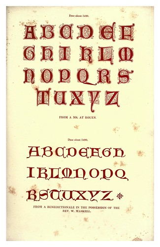 006-Siglo XV-The hand book of mediaeval alphabets and devices (1856)- Henry Shaw