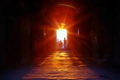 Sunset, Angkor Wat, Siem Reap, Cambodia