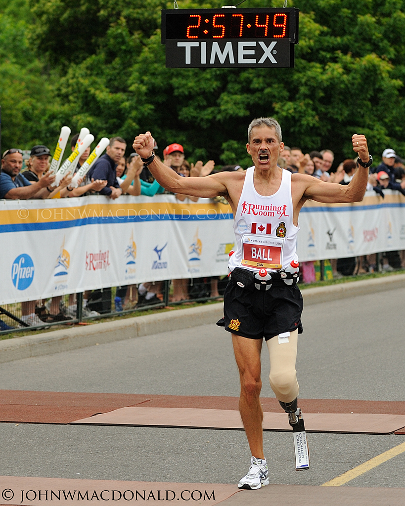 Rick Ball - World Record Ottawa Marathon