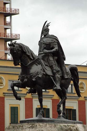 Skanderbeg Statue.5058