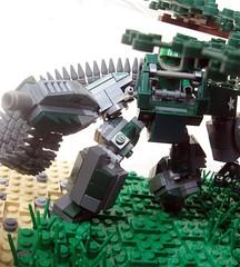 Assualt on Bunker TK-427 (Aaron (-_-)) Tags: lego brickarms