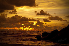 Luak Bay Sunset