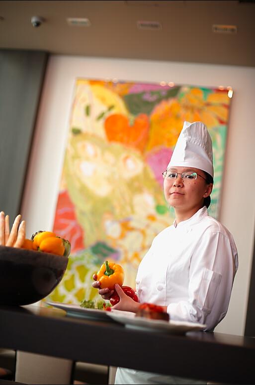 Chef Jacqueline Qiugiong
