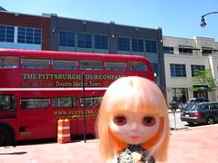 Lemon and the Pittsburgh Tour Bus.