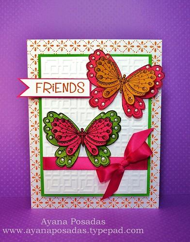 Friendship Butterfly Card (1)