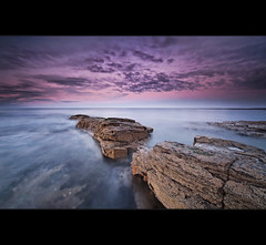 Cresswells Arm (Reed Ingram Weir) Tags: longexposure sunset sea rocks northumberland cresswell 12nd nikond700 1424mm reedingramweir lee09h