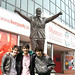 Jonas Brothers Bill Shankly Statue