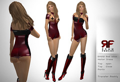 raww fashion latex red halter dress_texture (rawwfashion) Tags: leather fashion fetish bdsm clothes latex kawanishi raww javabox