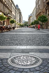 Central Budapest. Hungary (Paolo Margari) Tags: street city people urban vertical c
