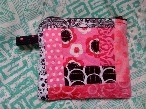I sewed a pouch! - side two
