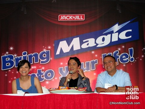 Jack 'n Jill Magic - John Lloyd Presscon