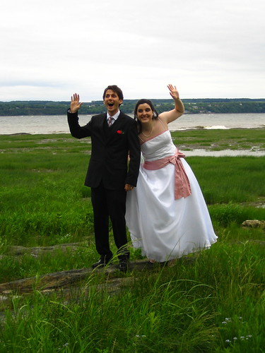 On est mariés!