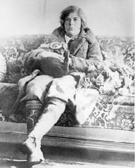 Elinor Smith Sullivan relaxing after a solo flight in which she broke the altitude record, 1929. (La Guardia and Wagner Archives) Tags: aviation laguardia fiorellolaguardia fiorello thelittleflower mayorlaguardia elinorsmithsullivan
