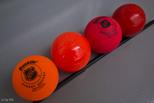 balls for bike polo