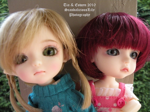 Eowyn & Tia new wigs
