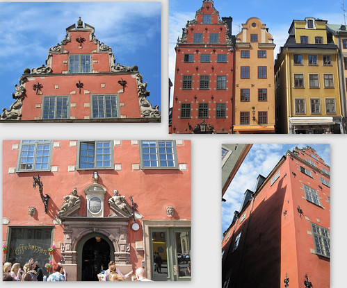 A medieval House in Gamla Stan (Stockholm Old Town) by Anna Amnell