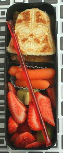 Darth Vader in a bento box