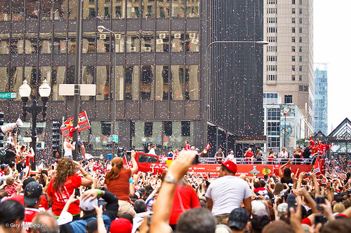 Chicago Blackhawks Parade 2010