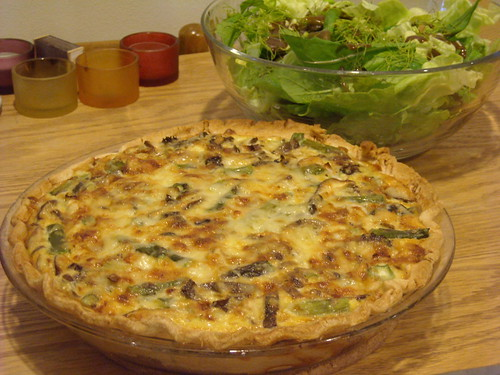 ... , Morel And Ramp Quiche With A Brown Rice Crust Recipes — Dishmaps