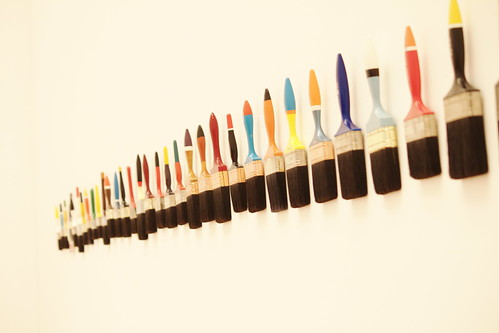 2010-06-13 14-32-15 Paint brushes on wal by Degilbo on flickr, on Flickr