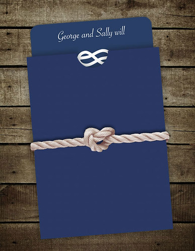 we have a great way to jazz up your nautical themed wedding invitations