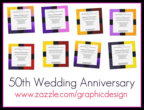 50th Wedding Anniversary I am back again with creating invitations hi hi hi